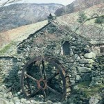 Comb Gill Mill, Borrowdale, Apr 1977 (24-152)