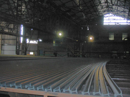 Rails cooling before finishing
