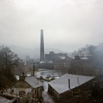 View from ironworks site, Jan 1963 (125-022)