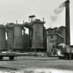 Oldside Works, Workington looking NW. 1909.