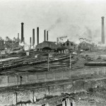 Barrow Steel Works looking N.. 1930s?