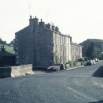 Holme Mills, 1980 - flax mill, jute mill, workers cottages (91-469)