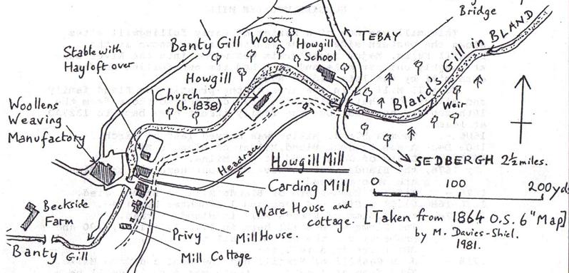 Howgill Sketch Map (M.Davies-Shiel)