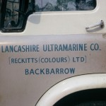 Lorry cab door, Nov 1976 (091-0398)