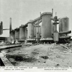 Blast furnaces and casting beds