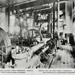 Blowing engines for Bessemer converters