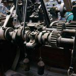 Low Mill, Staveley, 1992 - semi auto reel machine (70-90)