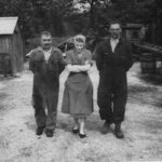 Eric Thistlethwaite, Freda Hale, Sid Bennett