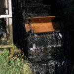 Undershot waterwheel, Nov 1986 (58-006)