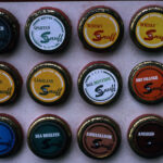 Snuff tin samples, Feb1991 (58-048)