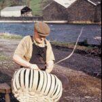 Taws first, spelks second, Backbarrow, Oct 1963 (62-75)