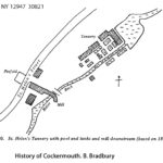 St. Helen's Tannery, Cockermouth -map and photos